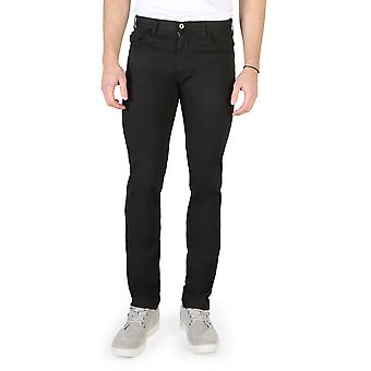 Armani Jeans Original Men All Year Pantaloni Negru Color - 58371