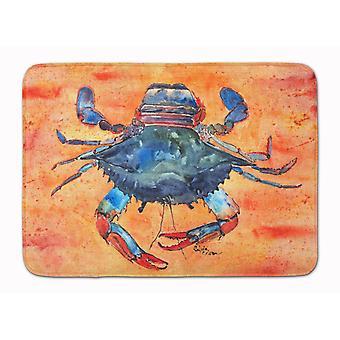 Carolines Treasures  8096-RUG Crab Machine Washable Memory Foam Mat