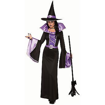 Womens Fantasy Sorceress Fancy Dress Costume (10-14)