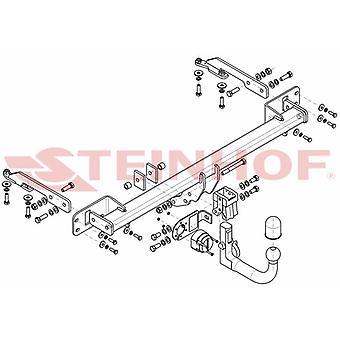 Steinhof Automatic Detachable Towbar (Vertical) for Honda HR-V 2014-2018