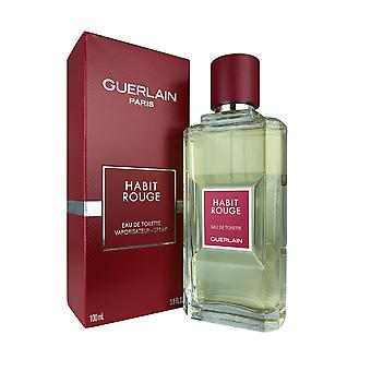 Guerlain habit rouge 3,4 oz edt