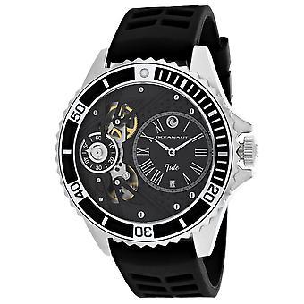 Oceanaut Men's Tide Black Dial Uhr - OC0997