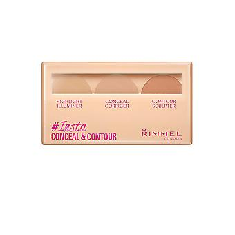 Rimmel London Rimmel Insta Conceal and Contour Palette 8.4g Light