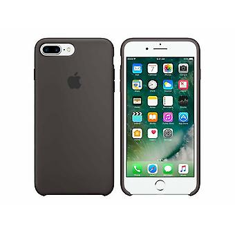 MMT12ZM/A Apple Silicon Microfiber Cover Case voor iPhone 8+ Plus / 7+ -Bruin