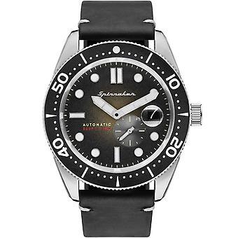 Spinnaker SP-5058-03 Gent's Croft Black Dial Wristwatch
