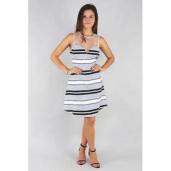 Sweetheart mash top mini dress