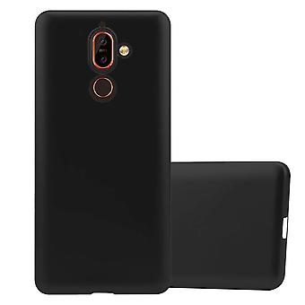 Cadorabo Case for Nokia 7 PLUS case case cover - Mobile TPU Silicone Phone Case - Silicone Case Protective Case Ultra Slim Soft Back Cover Case Bumper