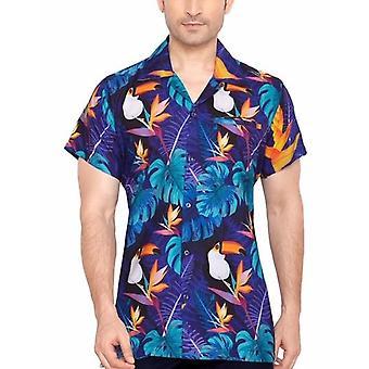 Club cubana men's regular fit classic short sleeve casual shirt cdkupb915