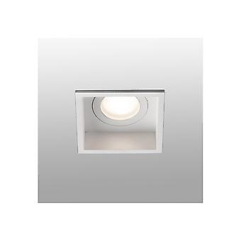 Faro Hyde - Weißes Quadrat Einbau-Downlight IP44 - FARO40116