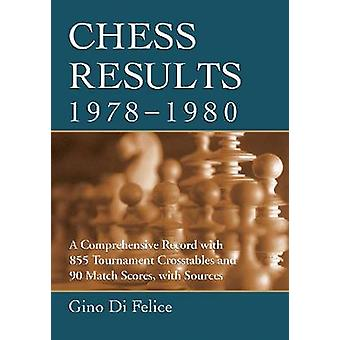 Chess Results - 1978-1980 - A Comprehensive Record with 855 Tournament
