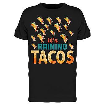 Seine Raining Tacos, Zeichnung Tee Men's -Bild von Shutterstock