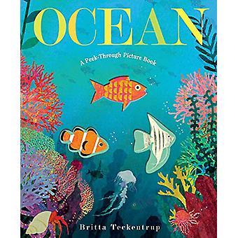 Ocean - A Peek-Through Picture Book by Britta Teckentrup - 97805256472