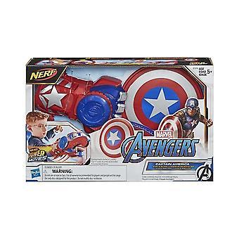 Marvel Avengers Captain America Nerf Power Moves Roleplay Set
