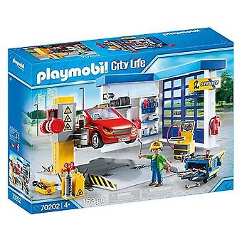 Playset City Life Car Workshop Playmobil 70202 (153 pcs)