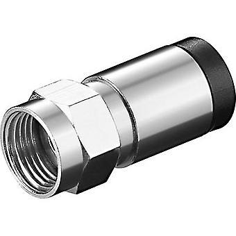 Compressie F-plug kabel diameter: 7 mm Goobay