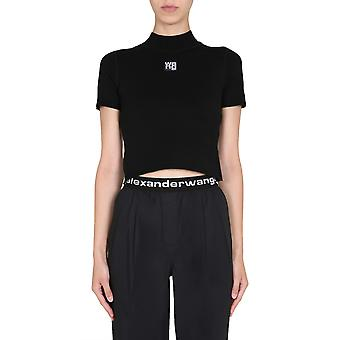 Alexander Wang.t 4kc2191008001 Women's Black Viscose Top