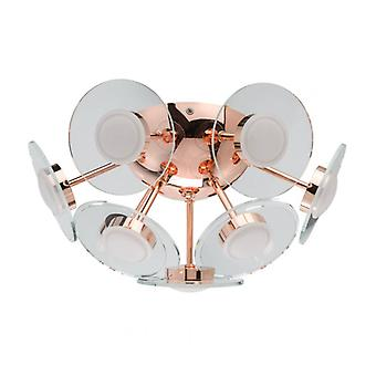 Ceiling Light Copper Techno 18 Cm