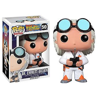Geleceğe Dönüş Dr. Emmett Brown Pop! Vinil