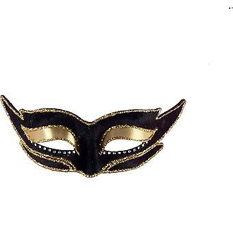 Ven masque W noir or Trm pour Masquerade