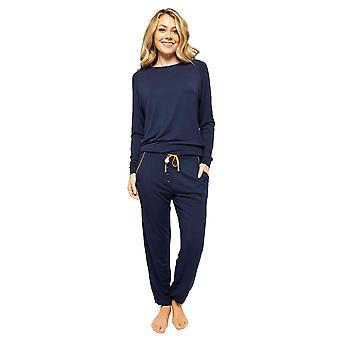 Cyberjammies Alexa 4512 Women's Navy Blue Pyjama Pant