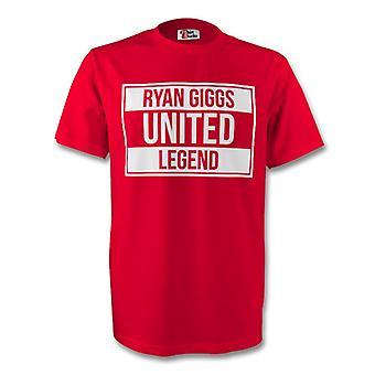Te de leyenda de Ryan Giggs Man Utd (rojo)