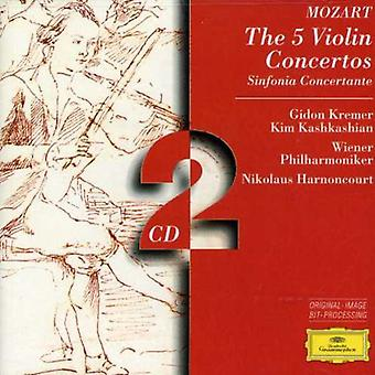Kremer/Harnoncourt/Vienna Philharmonic Orch. - Mozart: The 5 Violin Concertos [CD] USA import