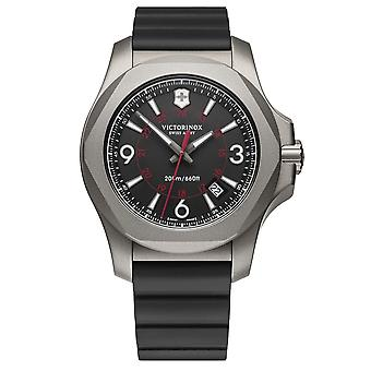 Victorinox Swiss Army Watches 241883 I.no.x. Titanium Black Rubber Men's Watch