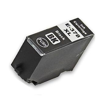 RudyTwos Replacement for Epson 378XLBK Ink Cartridge Black Compatible with XP-8500, XP-8505, HD XP-15000