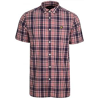 Lyle & Scott Coral Way Check Short Sleeve Shirt