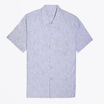 PS ポール スミス - &アポス;スクランブル ネット&アポス; プリント半袖シャツ - ホワイト