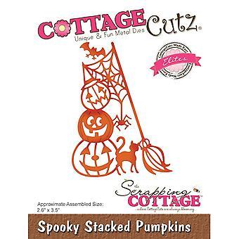 CottageCutz Spooky Stacked Pumpkins (Elites) (CCE-536)