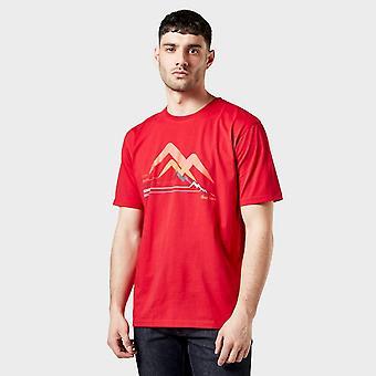 New Peter Storm Men's Aim Higher Tee Red