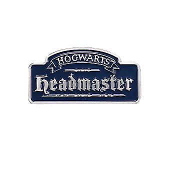 Harry Potter Pin Insigna Hogwarts Director Logo nou Oficial Blue Metal