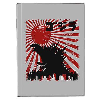 King Kaiju Godzilla Hardback Journal
