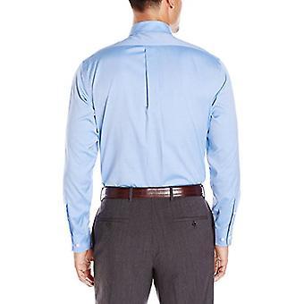 BUTTONED DOWN Men's Classic Fit Spread-Collar Non-Iron Kleid Shirt (Tasche), ...