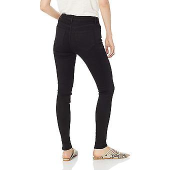 Daily Ritual Women's Mid-Rise Skinny Jean, Black, 30 (10), Black, Size 10.0