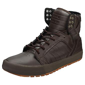 Supra Skytop Cw Mens Fashion Trainers in Koffie