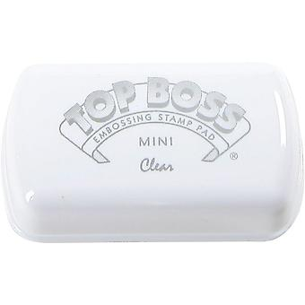 Clearsnap Top Boss Embossing Ink Mini Inkpad Clear