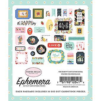 Carta Bella Oh Happy Day Ephemera