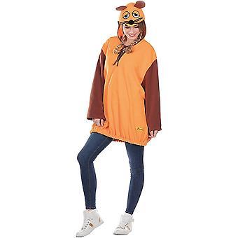 Musen Unisex - Vuxen Kika Showen med musen Vuxen Kostym