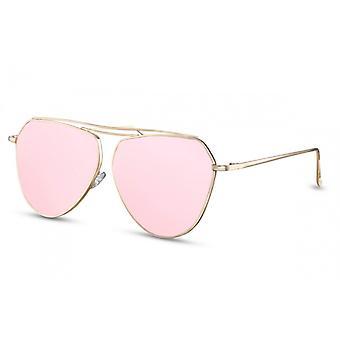 النظارات الشمسية المرأة الطيار Cat.3 الذهب / الوردي (CWI1389)