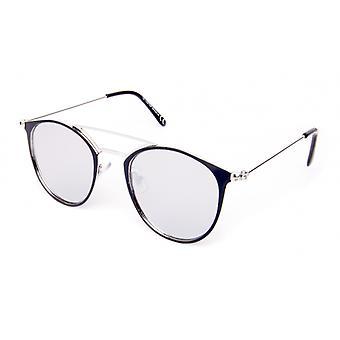Sonnenbrille Unisex    silber/schwarz (18-109)