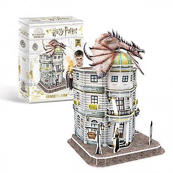 Universiteit spelletjes - gringotts bank - Harry Potter 3d puzzel