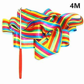 2m/4m Dance Ribbon Gym Rhythmic Gymnastics Art, Gymnastic Ballet Streamer