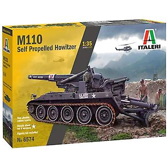 Italeri 6574 M110A1 1:720 Kunststof Model kit