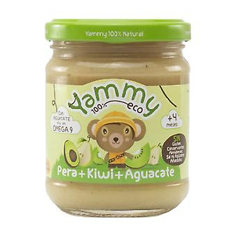 Jar of Pear, Kiwi and Avocado 195 g