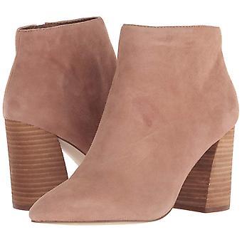 Stivali di moda Steve Madden Womens Simmer in pelle puntato alla caviglia