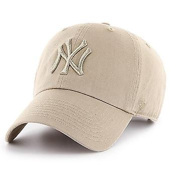 47 fire relaxed fit Cap - CLEAN UP New York Yankees khaki