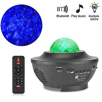 Starry Sky Projector  Star Night Light Projection -colorful Ocean Waving Lights