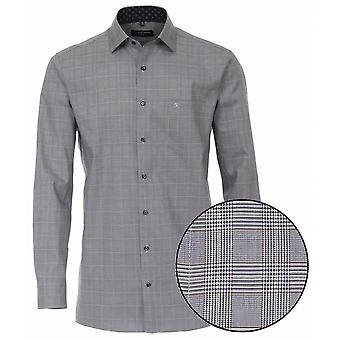 CASA MODA Casa Moda Check Formal Cotton Shirt